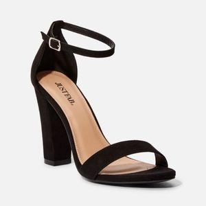 {JustFab} Makemba Block Heeled Sandal